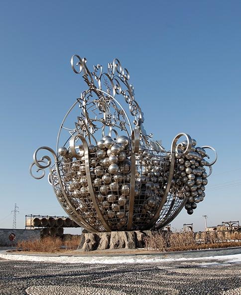 不锈钢雕塑景观